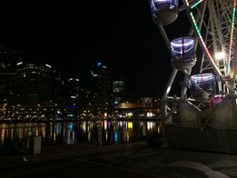 Sydney, from Darling Harbour at night